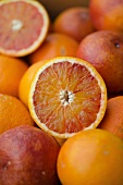 Organic blood oranges from Sicily