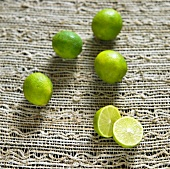 Whole Key Limes; One Halved