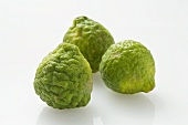 Three kafir limes
