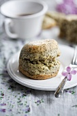 Scones with sesame seeds