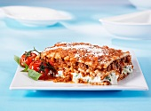 Lasagne al forno (pasta bake with meat sauce, Italy)