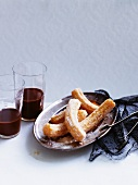 Churros (deep-fried choux pastries)