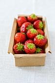 Erdbeeren im Karton