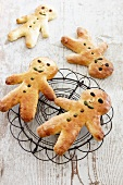 Bread men (Stutenkerle, made from sweet bread dough)