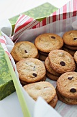 Chocolate Chip Cookies in a Gift Box