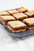 Fig Bars on a Platter