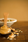 Spoonful of Cashew Butter; Cashews and Seeds