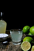 Limeade and limes