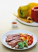 Costata al cili (beef steak with chilli)
