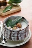 Zuppa di castagne (chestnut soup)