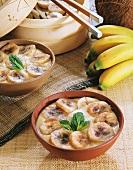 Serikaja (Indonesian banana dessert)