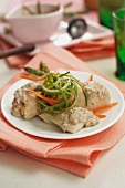 Petto di pollo tonnato (chicken breast with tuna sauce)