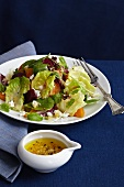 Winter Salad with Roasted Beets and Citrus Reductions Dressing