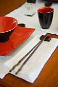 Asian place-setting