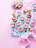 Blumen-Cupcakes
