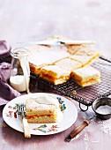 Tray-baked apricot shortcakes