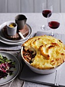 Shepherds Pie made with lamb collar