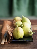 Asian Fragrant Pears on a Platter