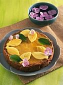 A mango tart