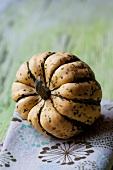 An ornamental gourd
