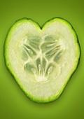 A slice of cucumber