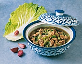 Chinese cabbage soup (Korea)