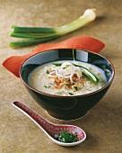 Tapioca soup with spring onions (Vietnam)
