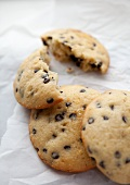 Chocolate chip muffin top cookies (USA)