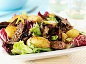Lammsalat mit Kartoffeln und Pilzen (Irland)
