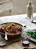 Beef ragout with barley