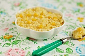 Polenta with fresh corn