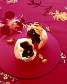 Klösschen mit Marmeladenfüllung (Asien)