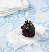 A Double Chocolate Cake Pop