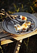 Toasted pineapple marshmallows