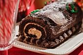 A Yule Log (Bûche de Noël)