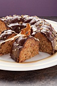 Hazelnut and pumpkin cake
