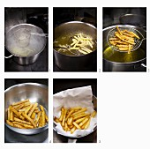 Chips being prepared