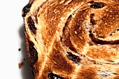 Toasted Slice of Cinnamon Raisin Bread