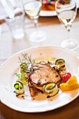 Pesce spada grigliato (grilled swordfish, Italy)