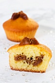 Muffins with tomato confit