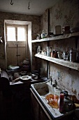 Old, neglected kitchen