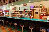 An American diner in California (USA)