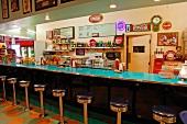 American Diner in Kalifornien (USA)