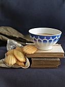 Madeleines with a French Coffee Bowl