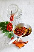 Rowan berry relish