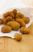 Potatoes in a paper bag