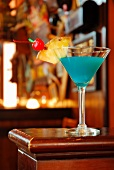 Blauer Martini