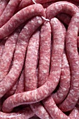 Raw sausages (Bratwurst)