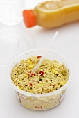Tabbouleh (ready meal) in a plastic pot