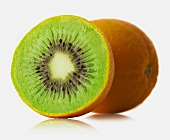 Mixture of orange and kiwi fruit